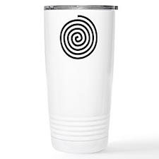 Spiral Petroglyph Icon Travel Mug