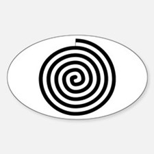 Spiral Petroglyph Icon Decal