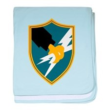 Cute Army security agency baby blanket