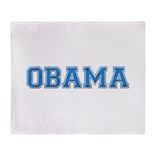 ObamaShops Throw Blanket