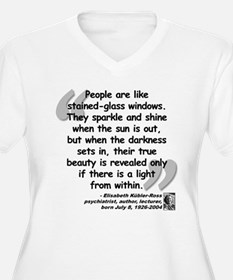 Kübler-Ross Light Quote T-Shirt