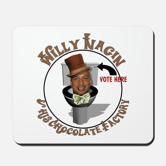 Nagin's Chocolate Factory Mousepad