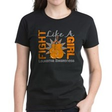 Licensed Fight Like a Girl 8. Tee