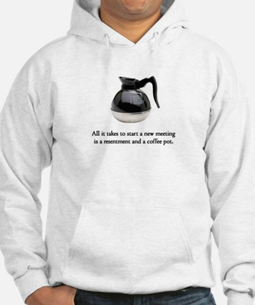Resentment and a Coffee Pot Hoodie