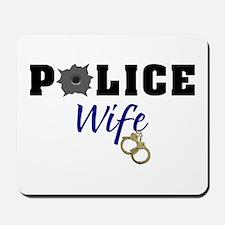 Police Wife Mousepad