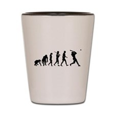 Evolution Baseball Shot Glass