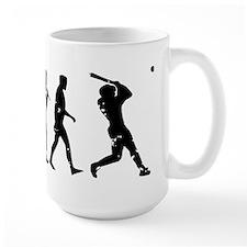 Evolution Baseball Mug