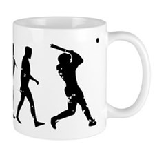 Evolution Baseball Mug