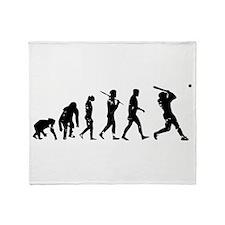 Evolution Baseball Throw Blanket