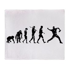 Evolution Pitcher Throw Blanket