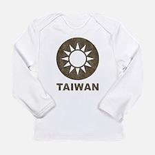 Vintage Taiwan Long Sleeve Infant T-Shirt