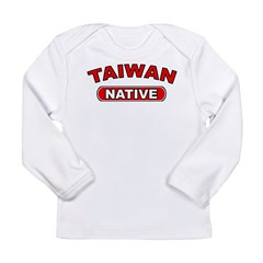 Taiwan Native Long Sleeve Infant T-Shirt