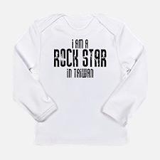 Rock Star In Taiwan Long Sleeve Infant T-Shirt