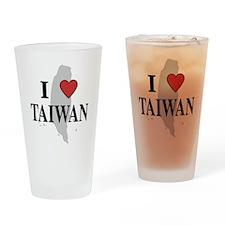 I Love Taiwan Pint Glass