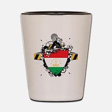 Hip Tajikistan Shot Glass