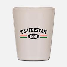 Tajikistan 1991 Shot Glass