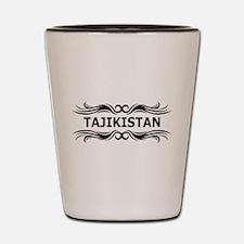 Tribal Tajikistan Shot Glass