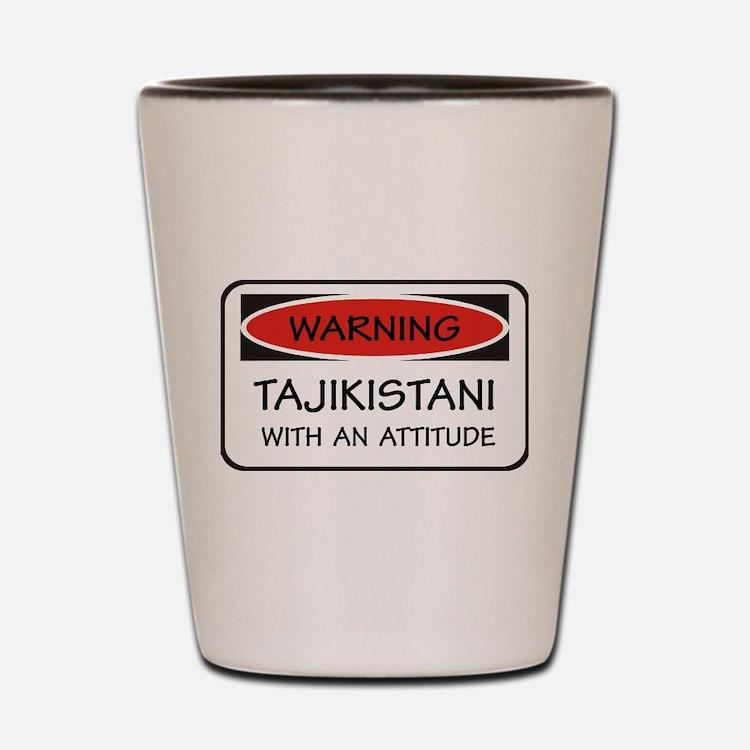 Attitude Tajikistani Shot Glass
