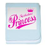 Tajikistani Princess baby blanket