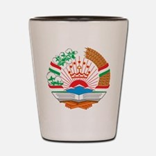 Tajikistan Coat Of Arms Shot Glass