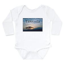 Tanzania Long Sleeve Infant Bodysuit