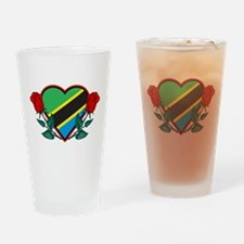 Heart Tanzania Pint Glass