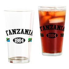 Tanzania 1964 Pint Glass