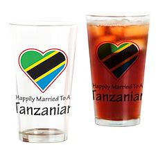 Happily Married Tanzanian Pint Glass