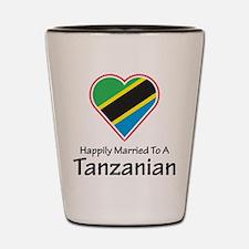 Happily Married Tanzanian Shot Glass