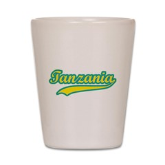 Retro Tanzania Shot Glass