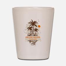 Phi Phi Island Thailand Shot Glass