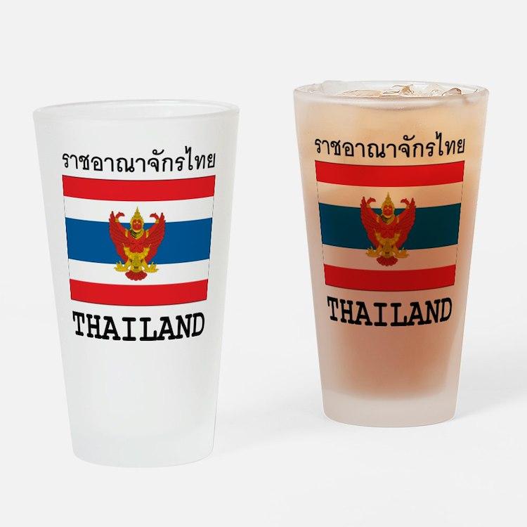 Thailand Pint Glass