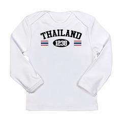 Thailand 1238 Long Sleeve Infant T-Shirt