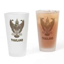Vintage Thailand Pint Glass