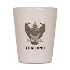 Vintage Thailand Shot Glass