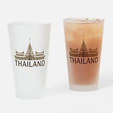 Vintage Thailand Temple Pint Glass