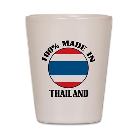 Made In Thailand Shot Glass