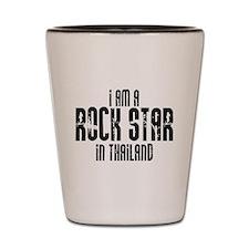 Rock Star In Thailand Shot Glass