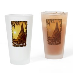 Vintage Bangkok Pint Glass