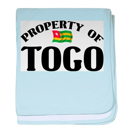 Property Of Togo baby blanket