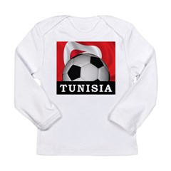 Tunisia Football Long Sleeve Infant T-Shirt