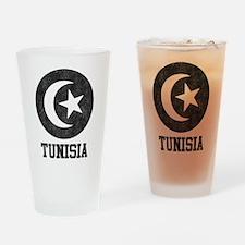Vintage Tunisia Pint Glass