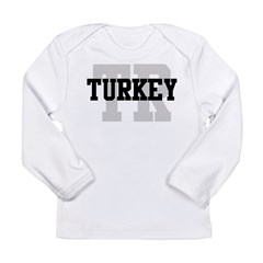 TR Turkey Long Sleeve Infant T-Shirt