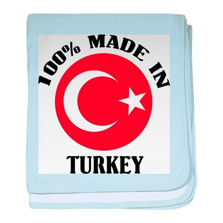 Made In Turkey baby blanket