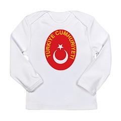 Turkey Coat Of Arms Long Sleeve Infant T-Shirt