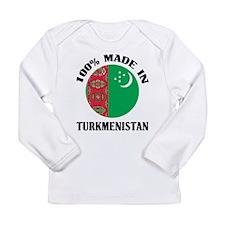 Made In Turkmenistan Long Sleeve Infant T-Shirt