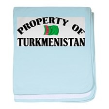 Property Of Turkmenistan baby blanket