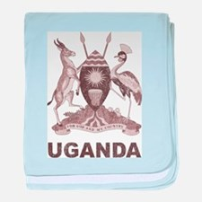 Vintage Uganda baby blanket