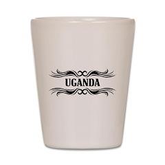 Tribal Uganda Shot Glass