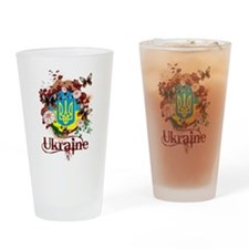 Butterfly Ukraine Pint Glass